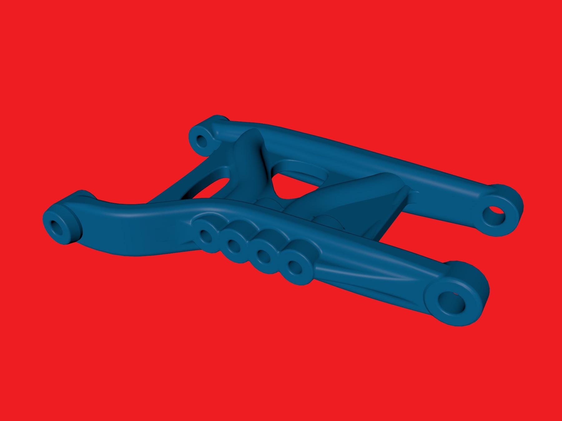 tamiya wrenchdog dyna storm b3 rear suspension arm