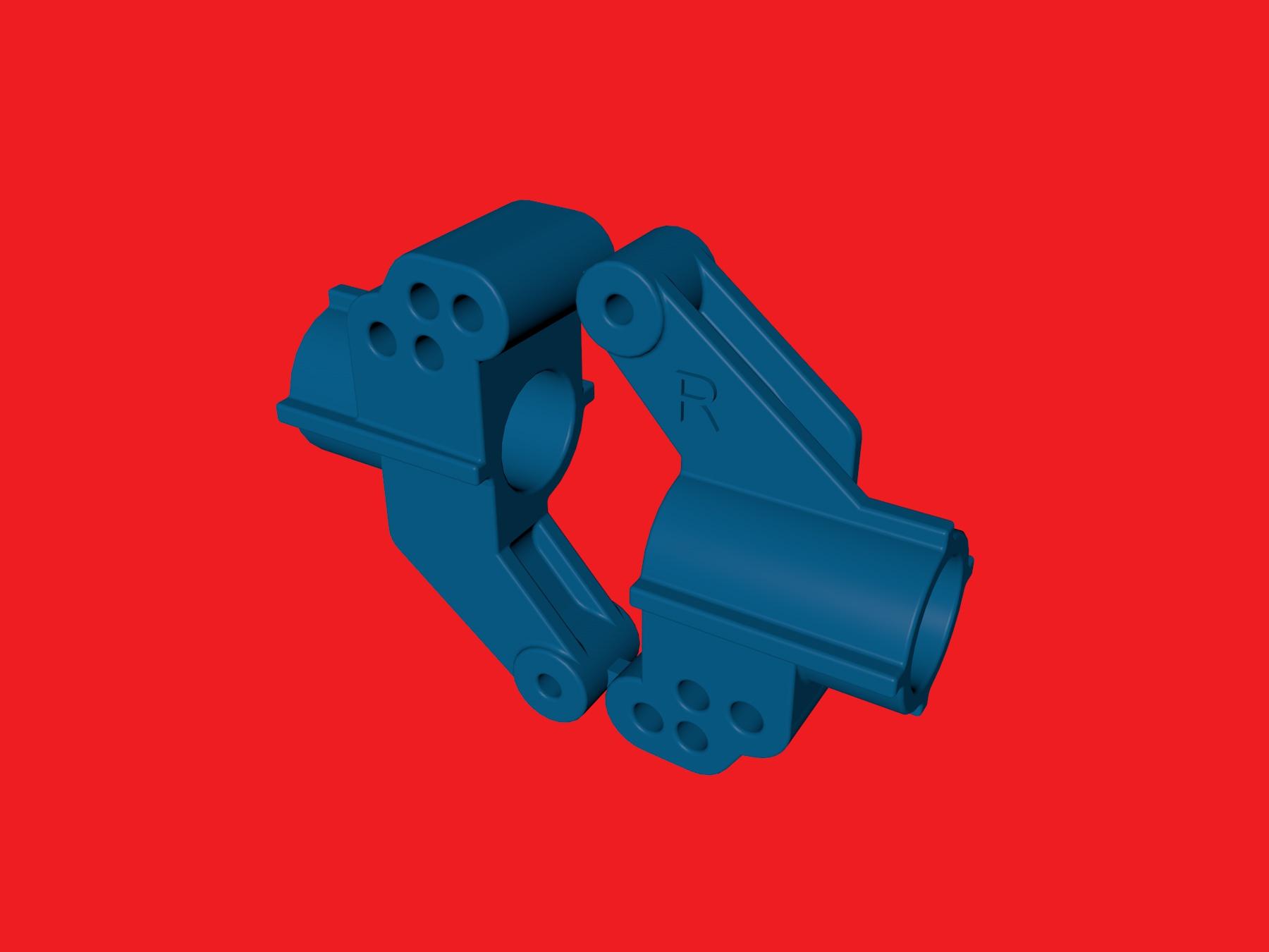 tamiya wrenchdog dyna storm dyna blaster tr-15t c1 c2 rear hub 2deg
