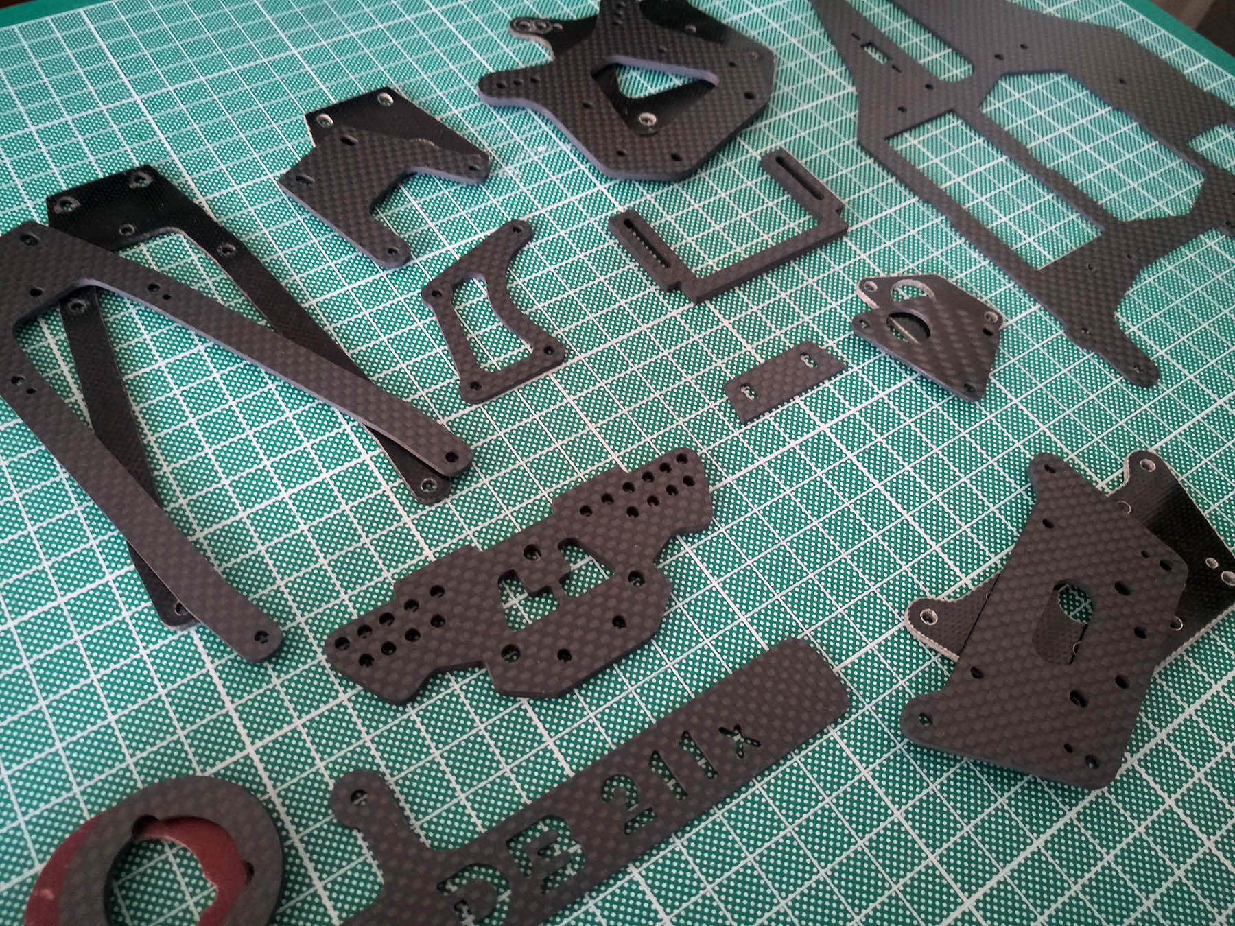 wrendchdog tamiya carbon fiber parts