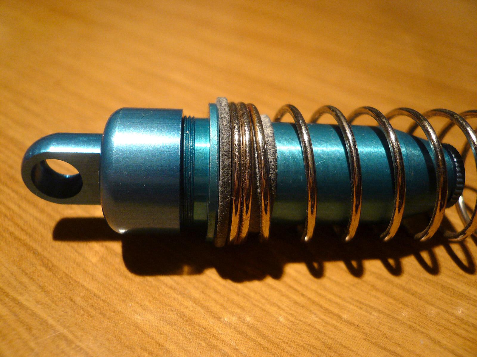 tamiya wrenchdog dyna storm sleeved damper spring spacer n5 n6