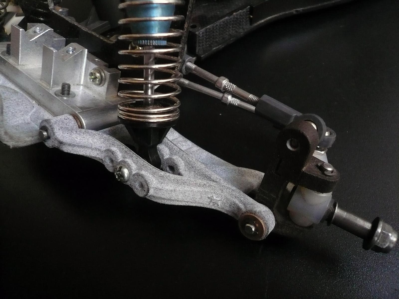 tamiya wrenchdog dyna blaster dyna storm front suspension d2 bulkhead d5