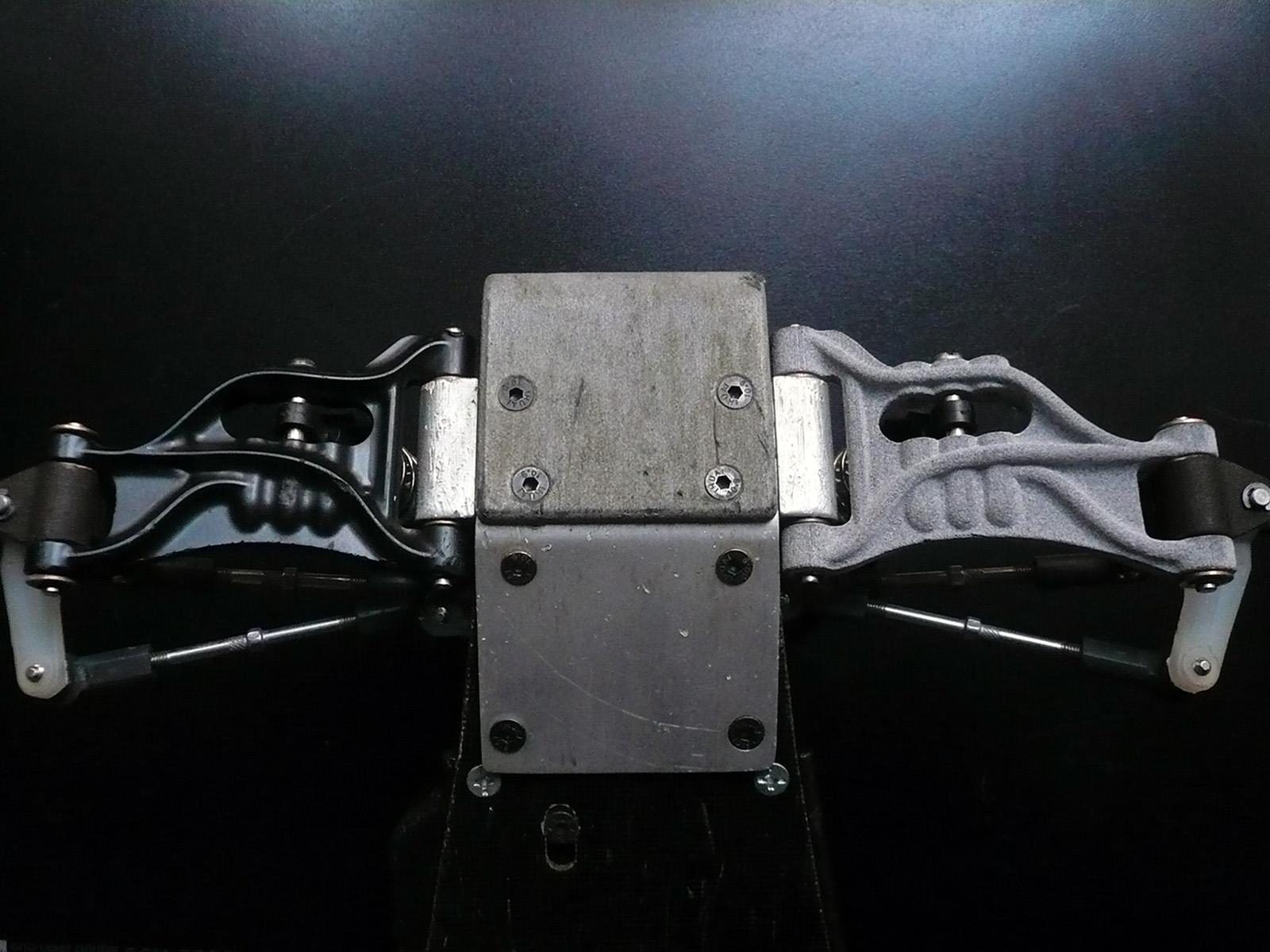 tamiya wrenchdog dyna blaster dyna storm front suspension kickup bulkhead