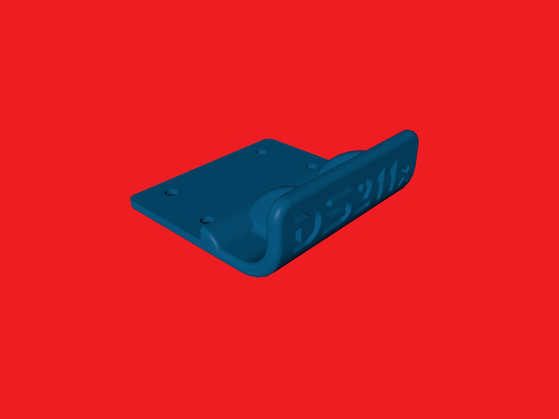 tamiya wrenchdog dyna storm dyna blaster conversion kickup front bumper db211x ds211x