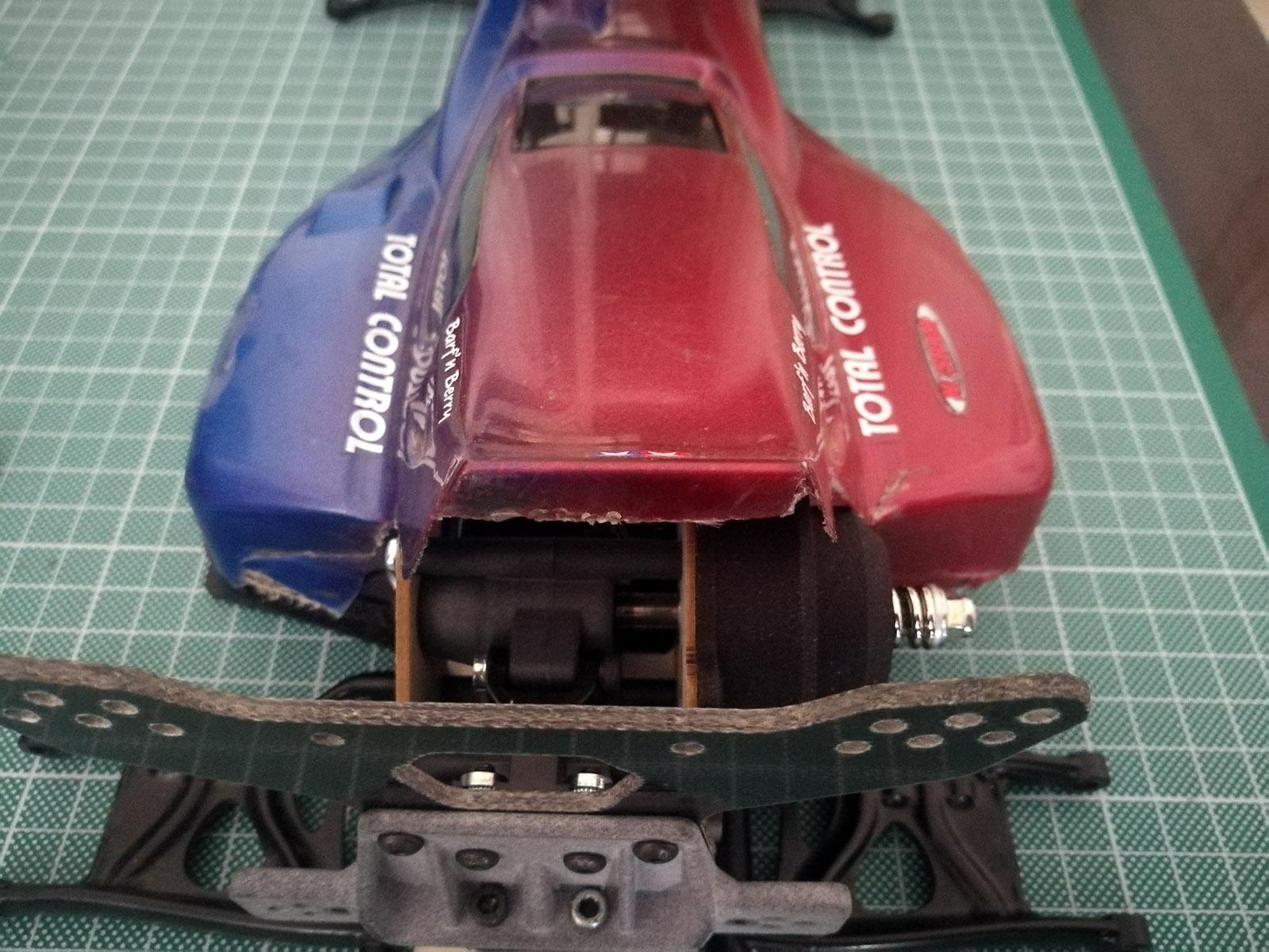 tamiya wrenchdog dyna storm super storm mid motor prototype