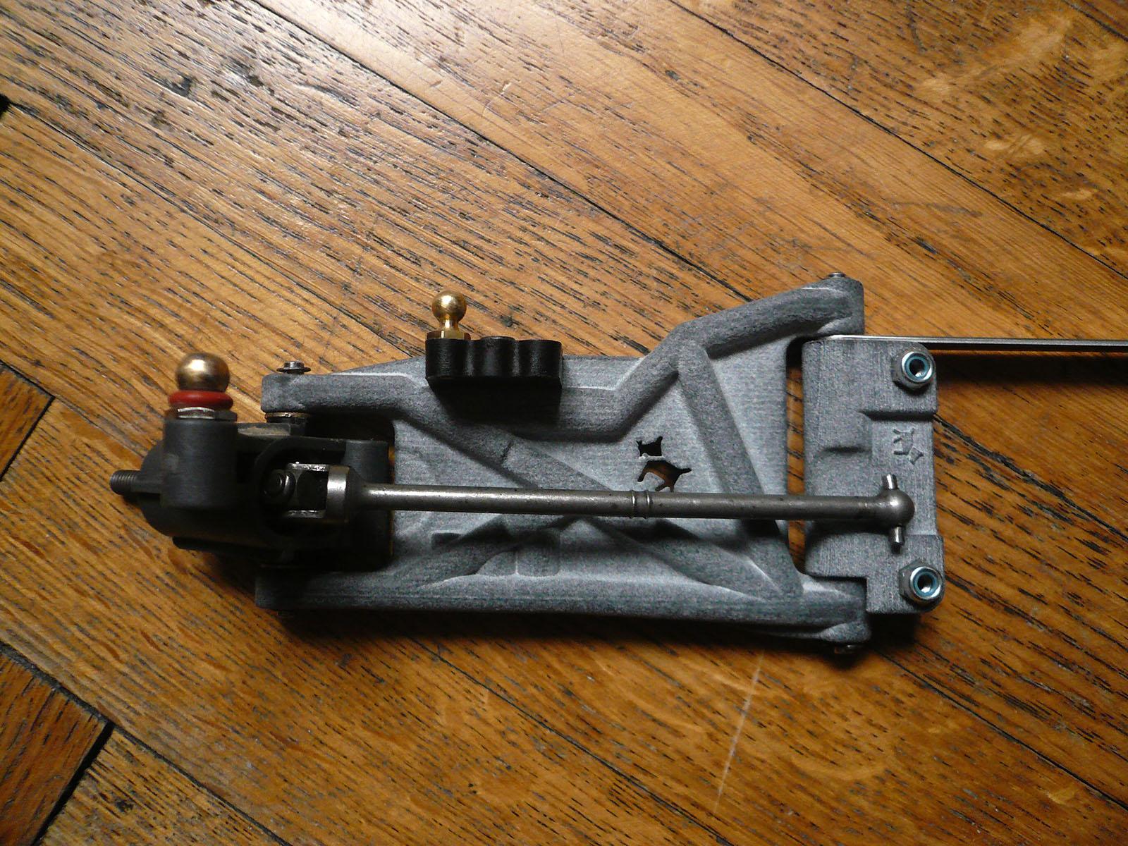 tamiya wrenchdog dyna storm dyna blaster custom rear suspension universal hub h1 h2 d2 b4