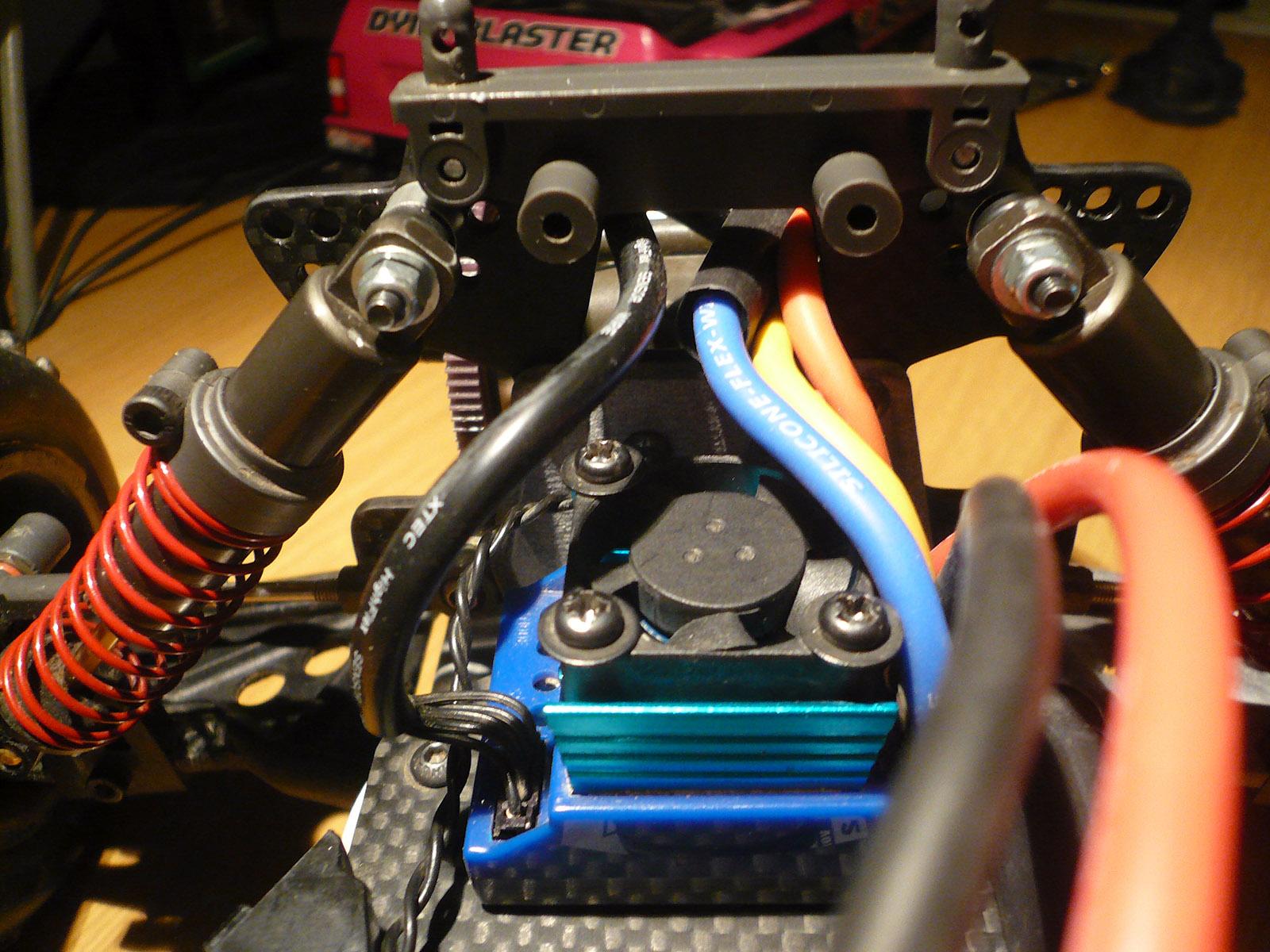 tamiya wrenchdog dyna blaster losi damper conversion db211x