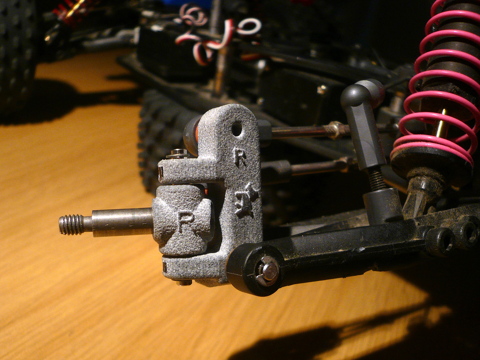 tamiya wrenchdog dyna blaster h1 h2 bf10 knuckle arm
