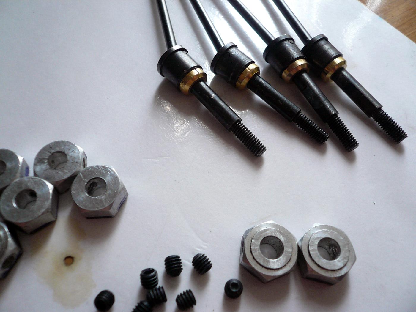 tamiya wrenchdog tr-15t dyna blaster cvd universal shaft