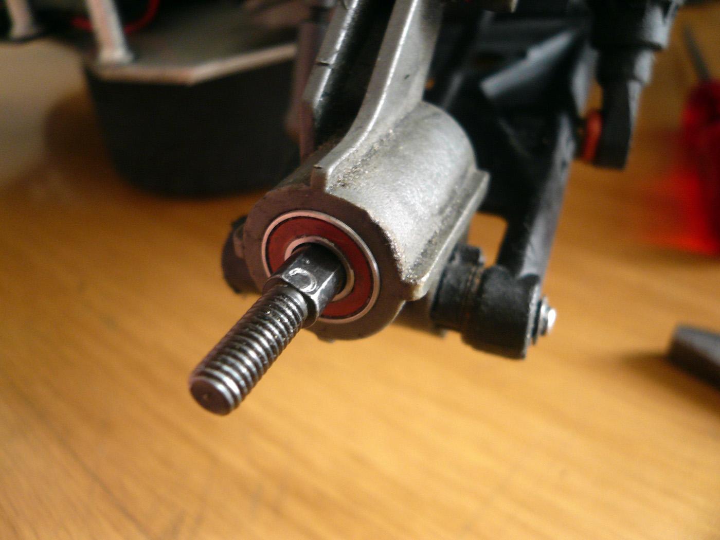 tamiya wrenchdog dyna storm dyna blaster tr-15t c-hub rear hub C1 C2