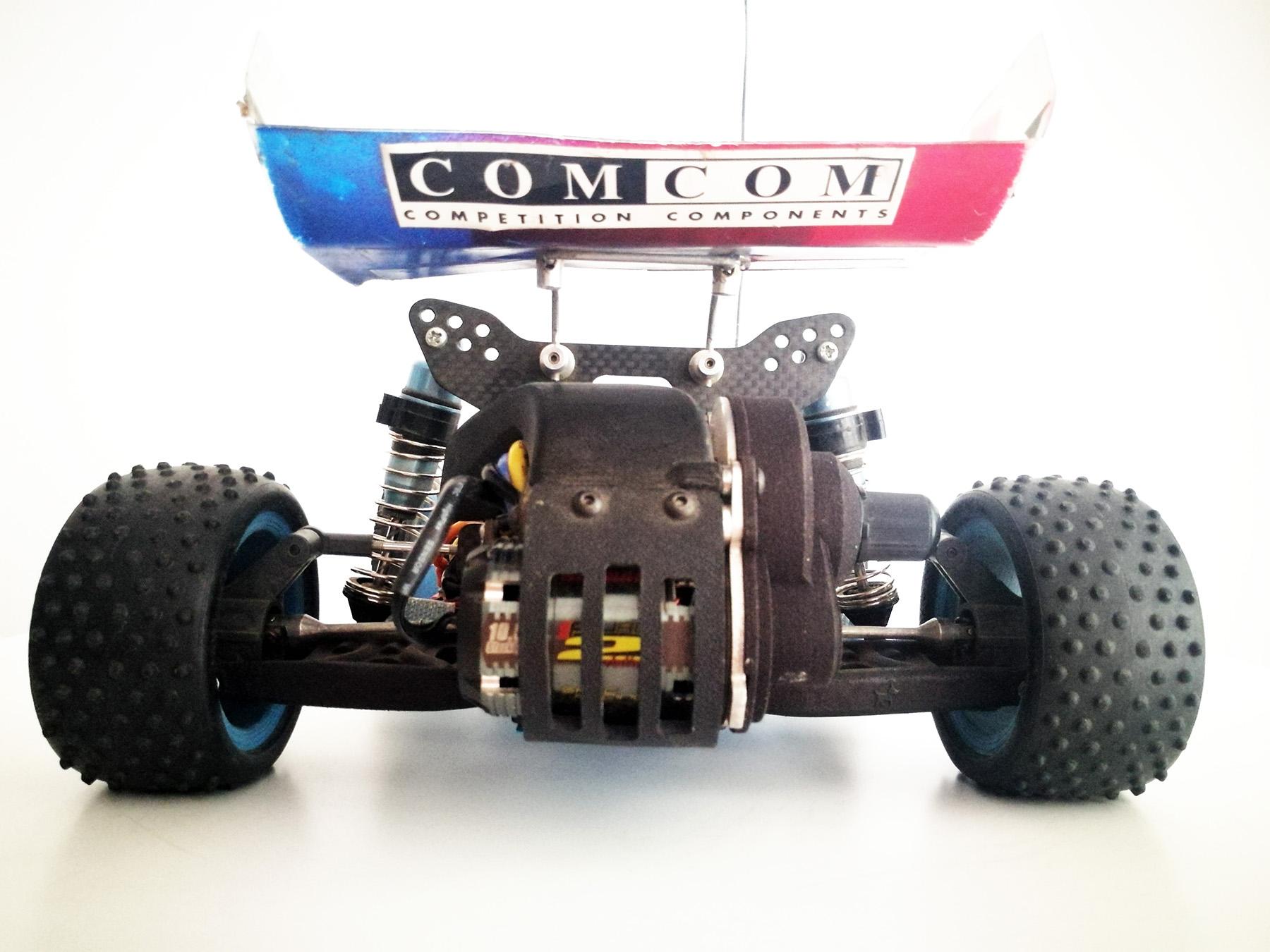 tamiya wrenchdog dyna storm trf211x conversion ds211x
