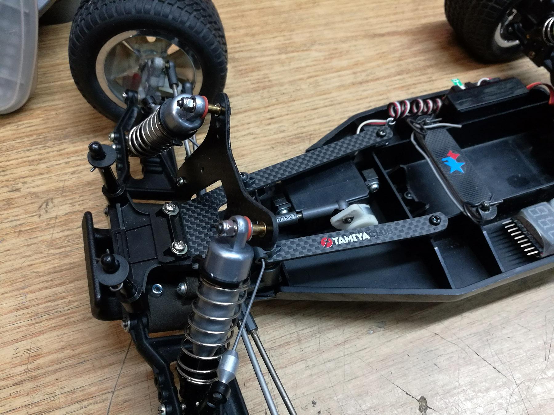 tamiya wrenchdog dyna blaster conversion lockdown blaster