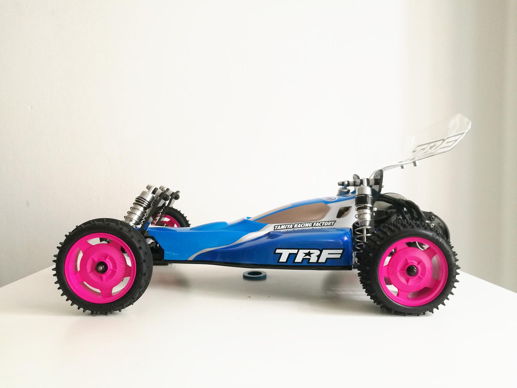 tamiya wrenchdog dyna storm ralph lee trf211x tribute car
