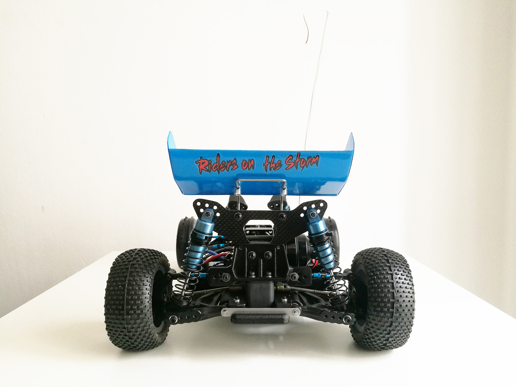 tamiya wrenchdog dyna storm mid motor conversion
